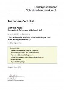 Fachwissen Innentüren 2010